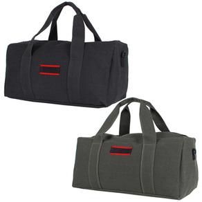 MI.intl 대용량 일자형 캠핑가방/여행가방/대형가방, 블랙(중형), 1개